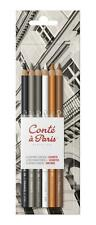 Conte a Paris Set Of 6 Sketching Pencils - Assorted - Free Delivery