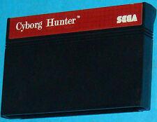 Cyborg Hunter - Sega Master System - PAL