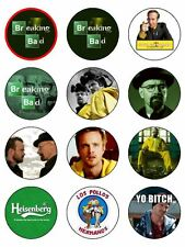 BREAKING BAD 12 CUPCAKE ICING TOPPERS