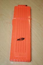 Official Nerf Orange 18- Dart Gun Clip Ammo Holder Case for N-Strike Elite