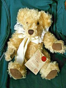 Hermann (Teddy-) Bär, Leven-Amanda, Excl. Sonderedition, Mohairplüsch, neuwertig