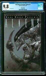 Dark Horse Presents: Aliens 1 CGC 9.8 NM/MINT Simon Bisley Platinum Variant