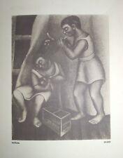 Galeria de Modernos Mexicanos - Agustin Lazo Photogravure - Carta Blanca Beer