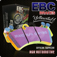 EBC YELLOWSTUFF FRONT PADS DP4108R FOR LOTUS ECLAT 2.0 (ALLOY WHEELS) 75-80