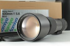 【Almost Unused in Box】Mamiya Sekor C 500mm f/5.6 w/Case 645 PRO TL From Japan