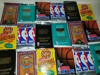 LOT OF Sixty (60) NEW AND UNOPENED NBA Basketball CARDS  FAST  Bonus