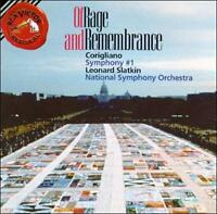 Various Artists : Corigliano: Symphony No.1  Of Rage and CD