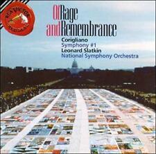Corigliano: Symphony No.1 / Of Rage and Remembrance John Corigliano, Leonard Sl