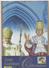 folder postale anno giubilare celestiniano  -  -2010 - jundudcs