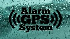 10X ALARM GPS SYSTEM VINYL DECAL STICKER DIECUT SIGN Security Car Van Windows
