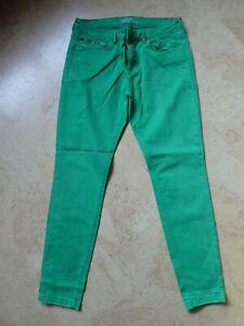 coloured Jeans v. Esprit, Gr.34/32, grün,Skinny, medium rise, Herbstfarbe, top !