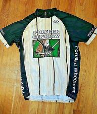 Pioneer Century Cycling Jersey S Portland Wheelmen 40 Years 1974-2014 Primal Zip