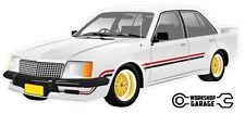 VC HDT BROCK Palais White Holden Commodore with Simmons