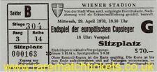 reproduction 1970 MANCHESTER CITY GORNIK ZABRZE cup winners cup final ticket RMT