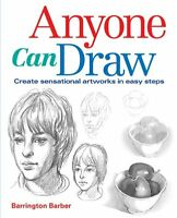 Anyone Can Draw Barrington Barber (Paperback 2011) Great Gift too! (New)