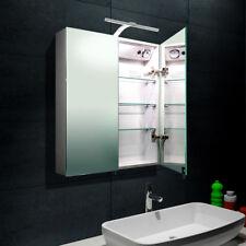 Design Alu Badezimmer Spiegelschrank LED Badschrank Badspiegel 61x70cm 16014B