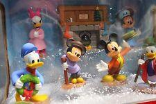 Mickey's Christmas Carol 7 Piece Holiday Figurine Collector Set NEW Mickey Mouse