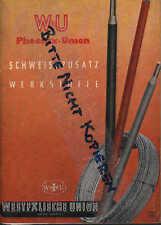 HAMM, Prospekt 1956, Westfälische Union AG für Eisen- und Drahtindustrie Phoenix