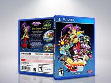 Shantae 1/2 Genie Hero - PS VITA - Replacement - Cover/Case - NO Game