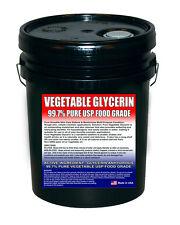 Vegetable Glycerin Food Grade 99.7+% Pure Kosher  - 5 Gallon VG