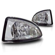 For 2004-2005 Honda Civic 2/4-Door Clear Lens Chrome Housing Fog Lights Lamps