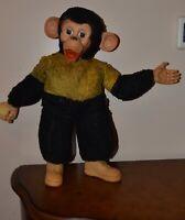 Vintage 1950 stuffed '' zippy monkey '' Columbia toy products