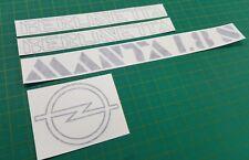 Opel Manta Berlinetta 1.8 S 1.8S B2 Lato Decalcomanie Adesivi Riparazione
