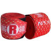 "Logo Stacked New Ringside Apex Kick Boxing MMA Handwraps Hand Wrap Wraps 180/"""
