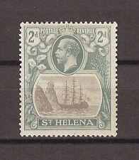 "ST HELENA 1922 SG 100A ""Broken Mainmast"" Fine Mint Cat £160"