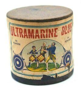 Antique NOS Ultramarine Blue in powder - Liberty Blue - Huntington, W. VA