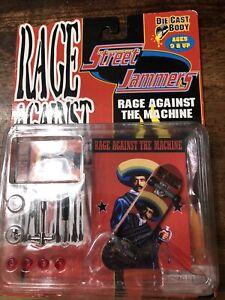 Rage Against the Machine Skate Board Street Jammers Die Cast Body NIB RATM R2