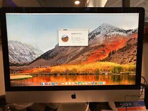 iMac 27-inch Late 2012 Core i7 3.4GHz 16GB Ram 1TB HDD