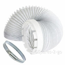 Vent Hose & Adaptor Worm Steel Jubilee Clip Kit For Indesit Tumble Dryer