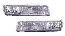 Mitsubishi L200 1996-2006 Crystal Clear Front Indicator Light Pair Left & Right
