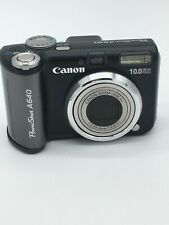Canon PowerShot A640 10.0MP Digital Camera LOADED W/ ACCESORIES, CASE, CHARGER