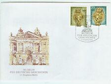 DDR FDC Ersttagsbrief 1990 Museum für Deutsche Geschichte Mi.Nr.3318+19