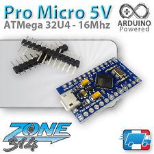Arduino Pro Micro 5 volts - ATmega 32U4 - 5V/16Mhz Micro USB ( compatible  Nano)