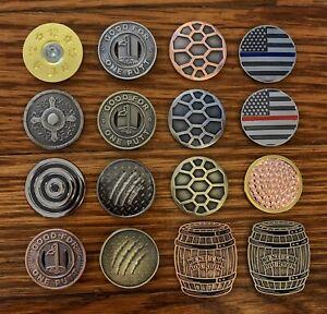 Golf Ball Markers - Pick Any Three - Coin - Metal - Cameron Lamb - Marker
