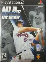 MLB 07: The Show (Sony PlayStation 2) PS2 CIB Complete w/ Case & Manual - Tested