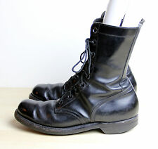 Vintage VIETNAM WAR Era Boots Men's Size 9 XN Narrow 1967 Black Combat Biltrite
