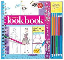 MY FABULOUS LOOK BOOK - FASHION DRAWING MADE EASY KIDS KLUTZ CRAFT ACTIVITY KIT