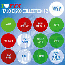 CD ZYX Italo Disco Collection 12 von Various Artists  3CDs