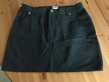 MOSCHINO Skirt Minirock Rock Schwarz Größe 42 UK 16 US 12 I 44 vintage