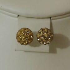 Shamballa Rhinestone Stud Fashion Earrings