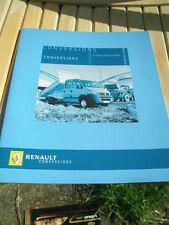 Renault Conversions range brochure Jun 2005