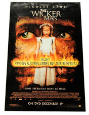 The Wicker Man (2006) Movie Film DVD Promo Poster 27 x 40 ^ Nicolas Cage