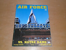 1982 NOTRE DAME AT AIR FORCE COLLEGE FOOTBALL PROGRAM EX-MINT