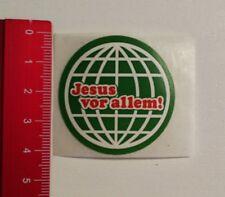 Aufkleber/Sticker: Jesus vor allem (30031752)