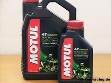 7,98 €/L OLIO MOTUL 5100 4t SAE 15w-50 5 litri ora con rilascio ma-2