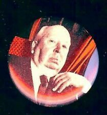 old Alfred HITCHCOCK photo pin pinback button